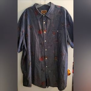 Foundry Supply Co. 2XLT Button-Down Shirt